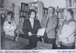 Artykuł Jacka Sulewskiego z listopada 1994 r.